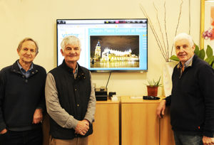The Risborough Rotary Club sponsored a new large TV screen for the Princes Centre